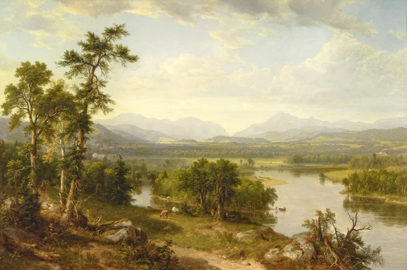 American Landscape Paintings From The Hudson River School