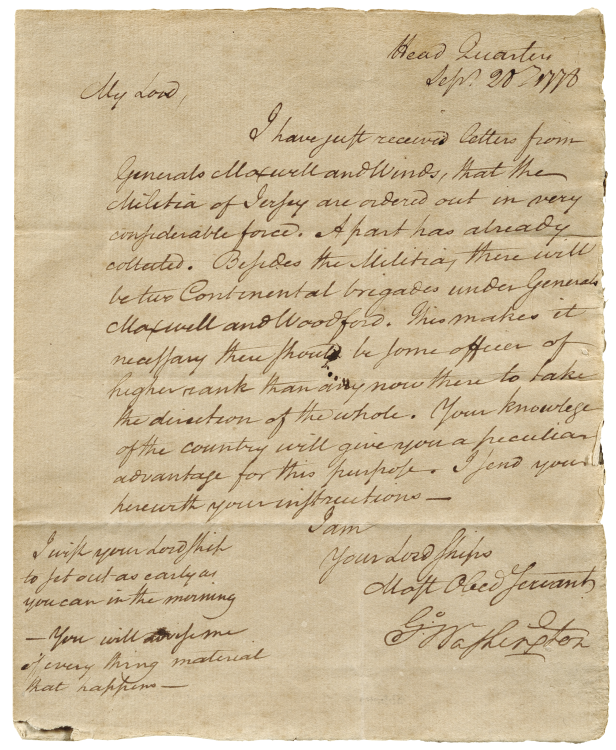 Famous Signatures | George Washington