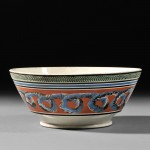 Large Mochaware Bowl, Britain, early 19th century (Lot 67, Estimate $1,500-$2,500)
