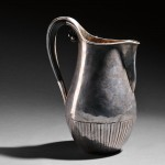 Georg Jensen Cosmos Pattern Sterling Silver Pitcher, Johan Rohde,   designed c. 1915, Sweden (Lot 330, Sold for $2,880)