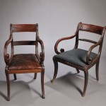 Four European Mahogany Chairs, 19th century (Lot 986, Estimate $200-$250)