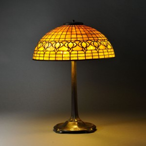 The Value Of Mosaic Glass Antique Tiffany Lamps