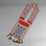 Great Lakes Loom-Beaded Cloth Bandolier Bag (Estimate $800-$1,200)