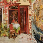 American School, 20th/21st Century Venice Trattoria (Lot 118, Estimate $800-$1,200)