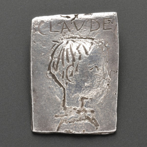 "Silver ""Claude"" Pendant, Pablo Picasso, from the collection of Carole   Mallory (Lot 185, Estimate $15,000-$20,000)"
