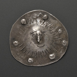 "Silver ""Sun"" Pendant, Pablo Picasso, from the collection of Carole   Mallory (Lot 186, Estimate $15,000-$20,000)"