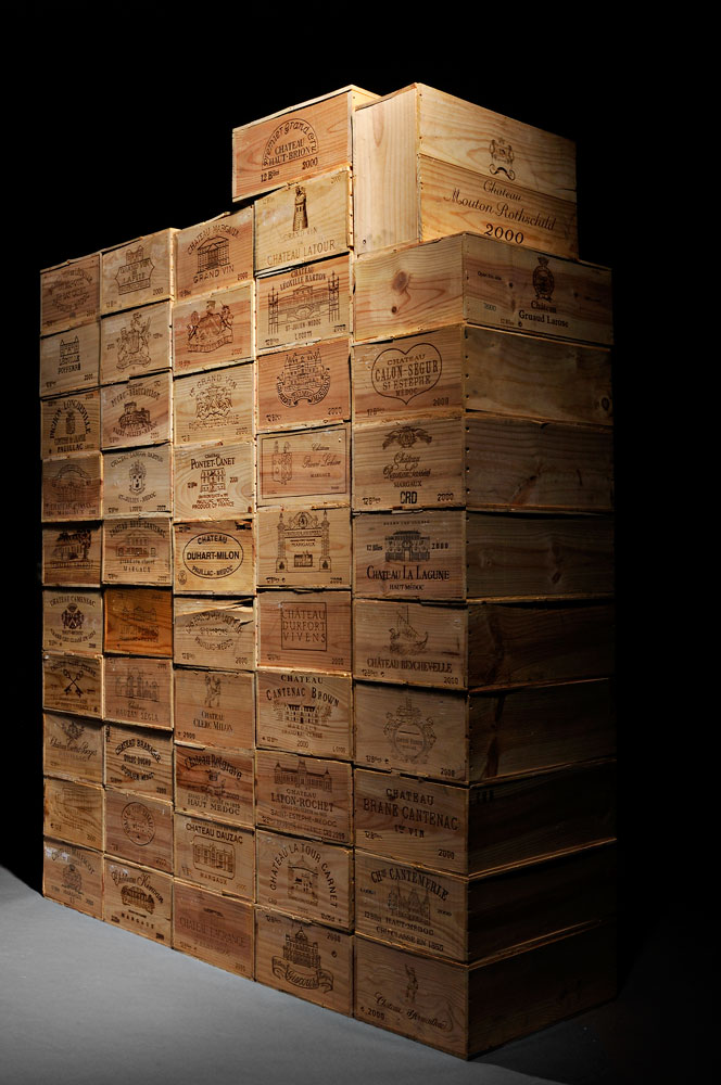 51-case Superlot of Classified 2000 Bordeaux (Lot 137, Estimate $100,000-$150,000)