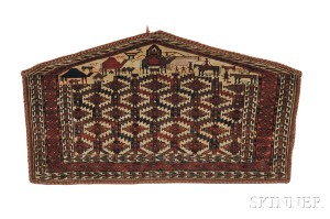 Yomud Asmalyk, West Turkestan, third quarter 19th century (Lot 145, Estimate $12,000-$15,000)