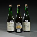 Drie Fonteinen Oude Geuze 1999, 2000, 2001, Beersel, Belgium (Lots 2-4, Estimates   vary)