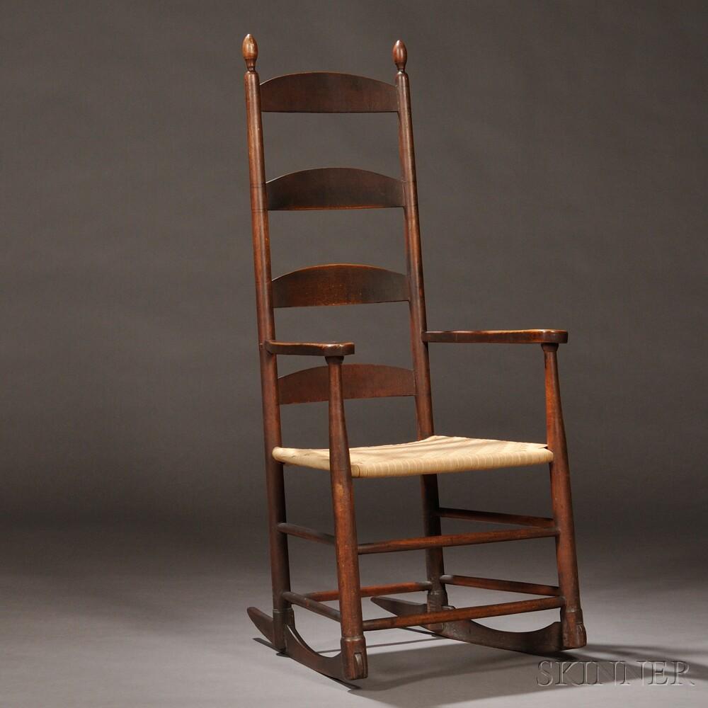 Antique rocking chair identification - Antique Dining Chairs Identification Shaker Antiques