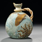 Mt. Washington Crown Milano Ewer with Fish (Estimate $1,500-$2,500)
