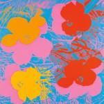 [Detail] Andy Warhol (American, 1928-1987) Flowers/A Portfolio of Ten Works, Suite of 10 screenprints 1970 (Lot 70, $400,000-$600,000)