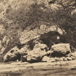 John Beasley Greene (American, 1832-1856)  River Bank, Algeria, 1855-56. (Lot 76, Estimate $3,000-$5,000)