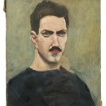 Alexander Calder (American, 1898-1976)  Self Portrait, c. 1924 (Lot 350, Estimate $60,000-$80,000)