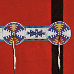 Blackfoot Trade Blanket with Beaded Hide Strip, c. late 19th century (Lot 103, Estimate $15,000-$20,000)