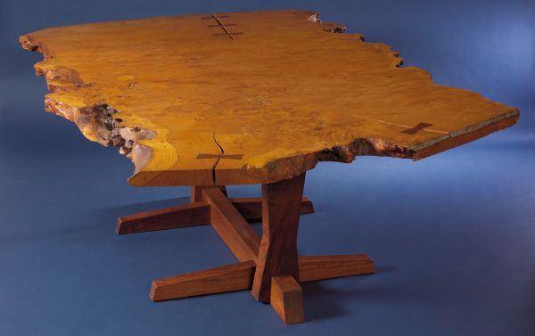 Nakashima Table george nakashima furniture | modern furniture auctions | skinner inc.