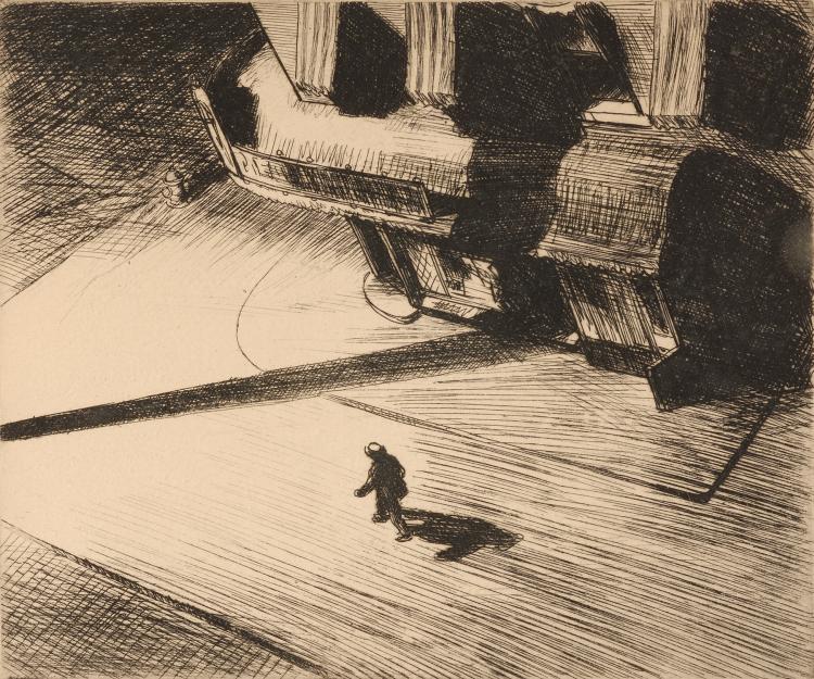 Edward Hopper | Night Shadows