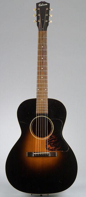 American Gibson guitar Kalamazoo 1934
