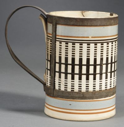 Make-Do Mochaware Pottery Mug