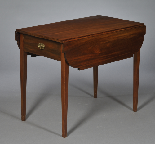 Beau Federal Mahogany Pembroke Table