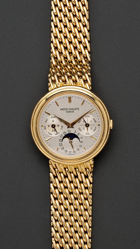 18kt Gold Patek Phillippe Watch