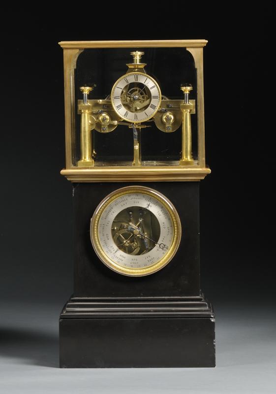 Perpetual Calendar Clock by Henri Robert