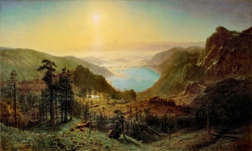 Hudson River School, Albert Bierstadt