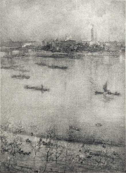 Whistler, The Thames