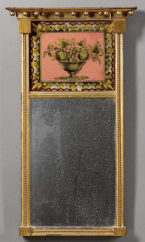 Reflections On Antique Mirrors Skinner Inc