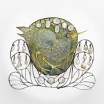 Marsh Bird Brooch