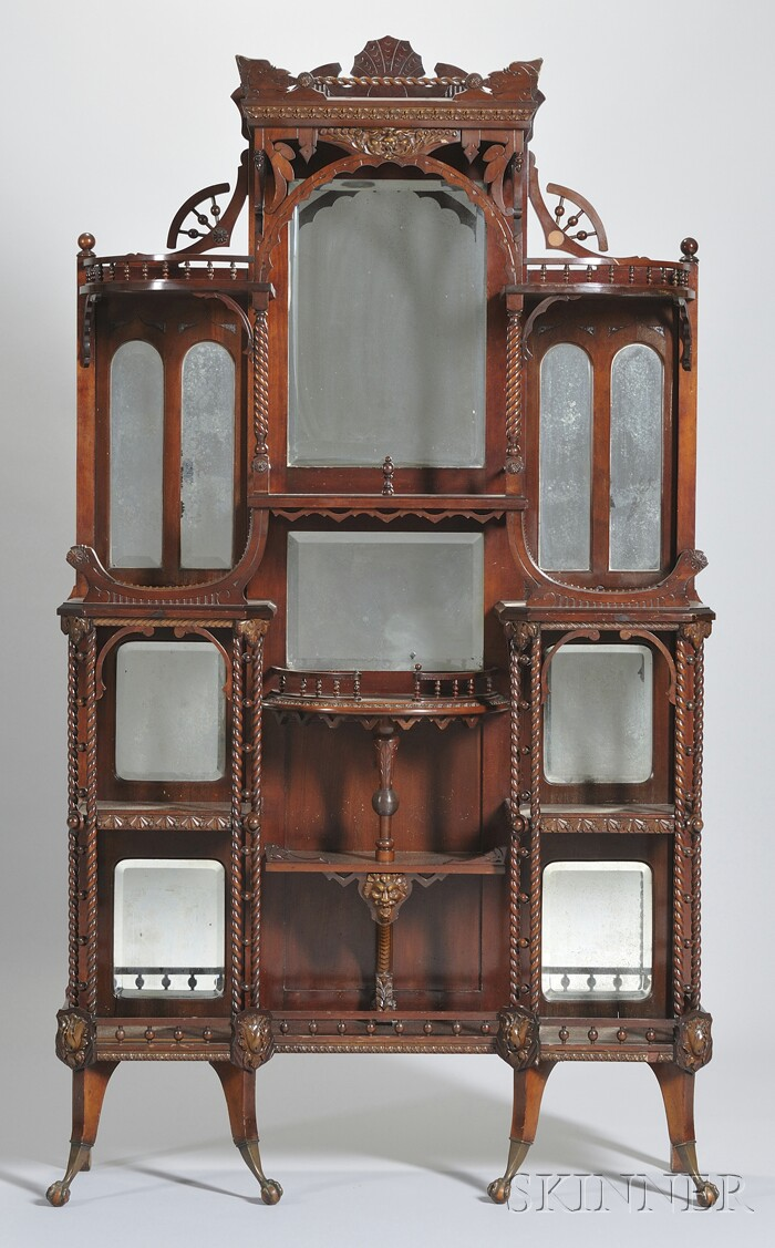 Victoriana | Etagere - Victoriana Victorian Antiques And Furniture At Auction Skinner Inc.