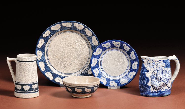 Dedham Pottery | Chick Design