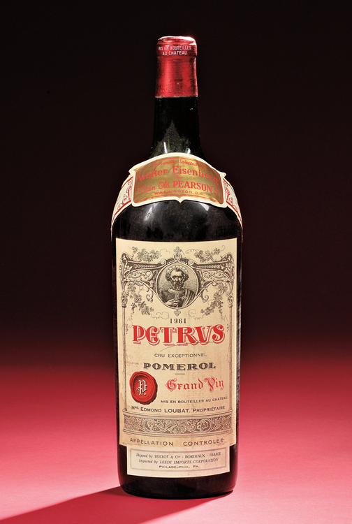 Fine Art Auction Highlights | 1961 Petrus Wine