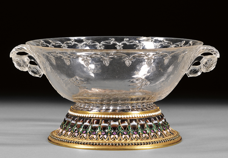 Fine Art Auction Highlights | Rock Crystal Cup