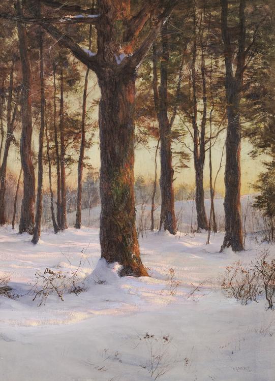 Walter Launt Palmer Painting | Fine Art Appraiser