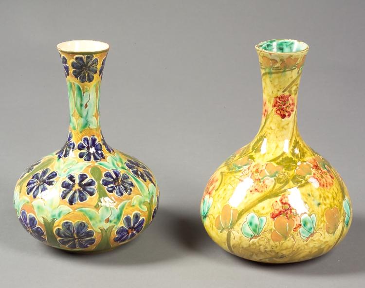 Della Robbia Pottery Vases