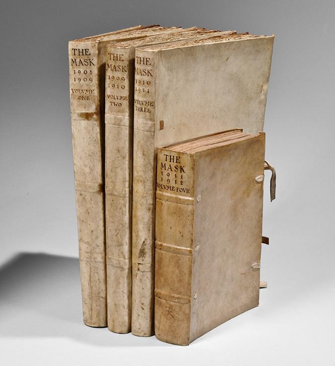 Rare Book | Edward Gordon Craig, editor. The Mask