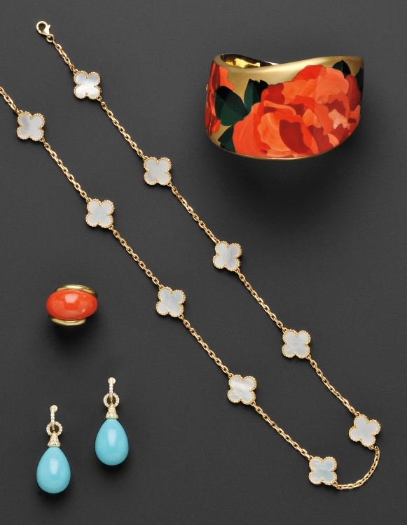 Fine Jewelry at auction June 12, 2012 in Boston