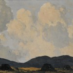 Lot 508: Paul Henry (Irish, 1876-1958), A Bog Near Dingle,   Co., Kerry, c. 1928-30, Estimate $25,000-$35,000