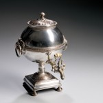 English Silver-plated Hot Water Urn (Lot 1, Estimate $250-$350)