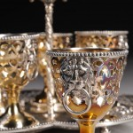 Victorian Sterling Silver Egg Cup Holder, London (Lot 111, Estimate $200-$400)