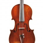 French Violin, Hippolyte Chretien Silvestre, Paris, c. 1900 (Lot 37, Estimate $9,000-$12,000)