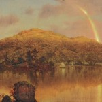 Louis Remy Mignot (American, 1831-1870), Rainbow over a Lake in the   Hudson River Valley (Lot 373, Estimate $30,000-$50,000)