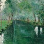 John Leslie Breck (American, 1860-1899), The River Epte, Giverny, c.   1887 (Lot 386, Estimate $100,000-$150,000)