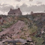 Jack Butler Yeats (Irish, 1871-1957), A Lane in Kerry, 1914 (Lot 464, Estimate $50,000-$70,000)