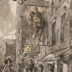 Reginald Marsh (American, 1898-1954), Fat Men's Shop, 1944 (Lot 498, Estimate $30,000-$50,000)