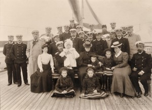 Russian Royal Family Aboard the Standart