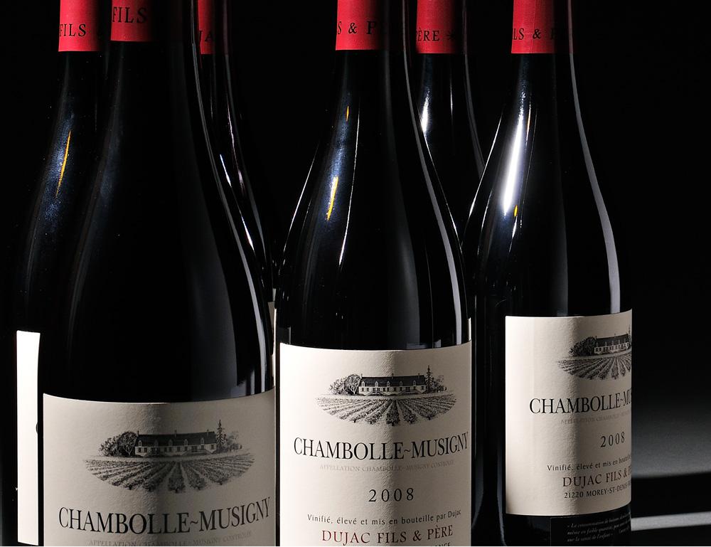 Dujac Chambolle Musigny 2008, Cote de Nuits, 6 bottles (Lot 584,   Estimate $200-$300)