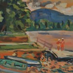 Miron Sima (Israeli, 1902-1999) Camp Kearsarge, New Hampshire, 1952 (Lot   451, Estimate $800-$1,200)