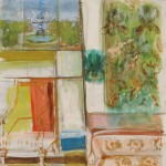 Fannie Hillsmith (American, 1911-2007) Interior Scene, 1960 (Lot 225,   Estimate $1,000-$1,500)